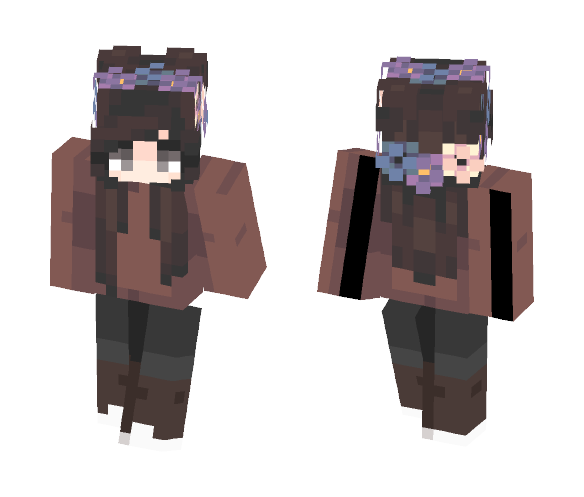 Isn't it supposed to be warm? - Female Minecraft Skins - image 1