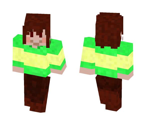 Undertale Skin: Chara - Interchangeable Minecraft Skins - image 1