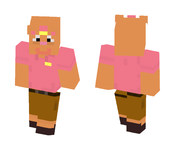Undertale Skin: Burgerpants - Male Minecraft Skins - image 1