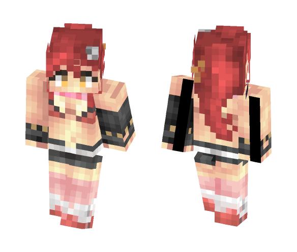 Yoko Littner - Gurren Lagann - Female Minecraft Skins - image 1