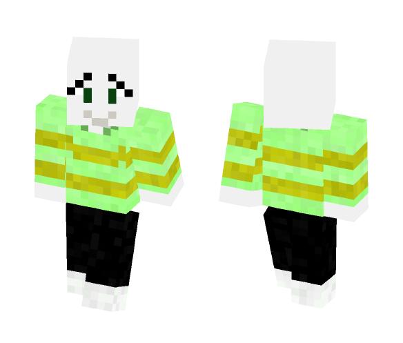 Undertale Skin: Asriel - Male Minecraft Skins - image 1