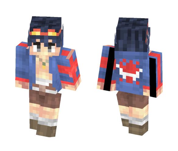 Simon - Gurren Lagann - Male Minecraft Skins - image 1