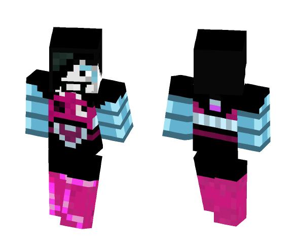 Undertale Skin: Mettaton EX - Male Minecraft Skins - image 1
