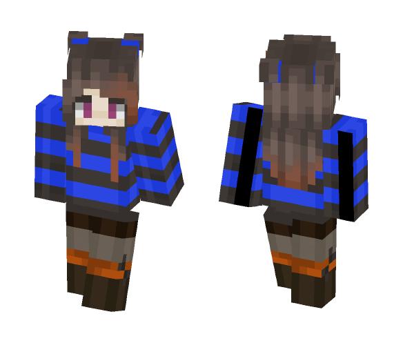 Love the blue - Female Minecraft Skins - image 1