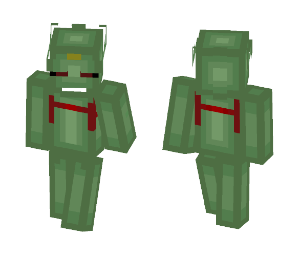 Green Beetle (Martian Form) - Male Minecraft Skins - image 1
