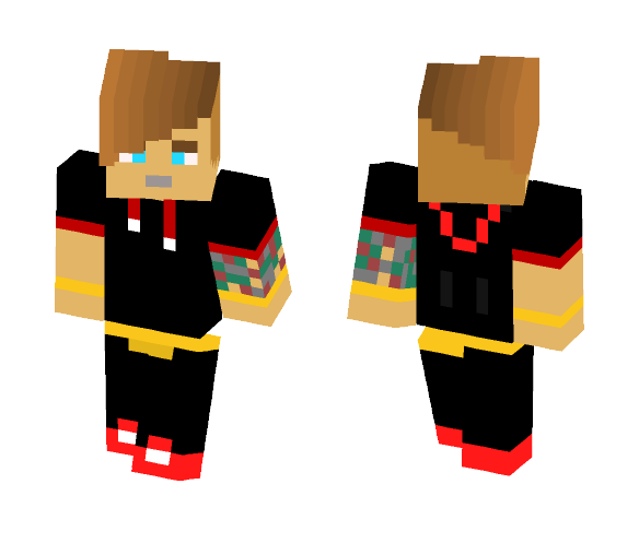 "Farkas ""NonsterX"" Kevin - Male Minecraft Skins - image 1"