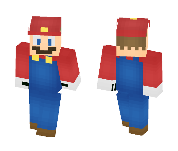 It's a me! Mario! - Male Minecraft Skins - image 1