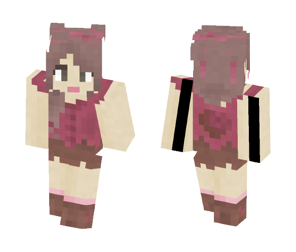 raspberry chocolate - Female Minecraft Skins - image 1