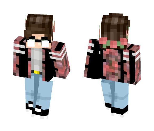 Floral boy???? - Male Minecraft Skins - image 1