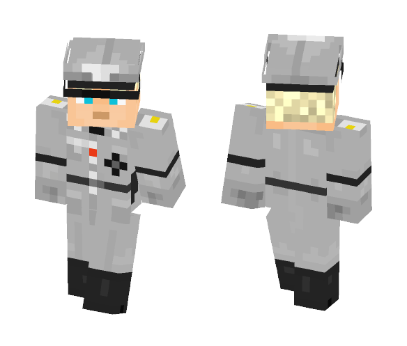 German Officer WW2 - Male Minecraft Skins - image 1