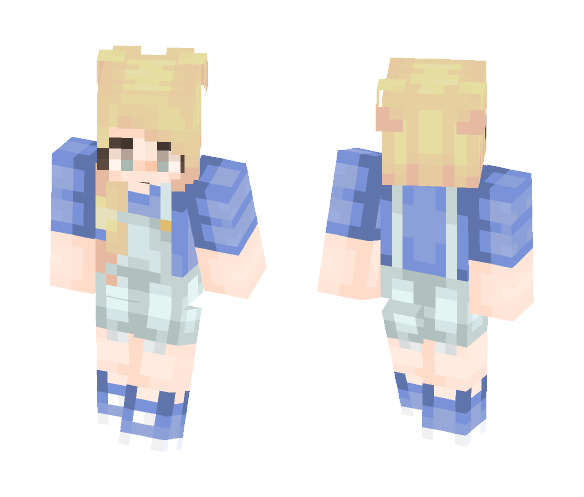 ❥ Overall - Female Minecraft Skins - image 1
