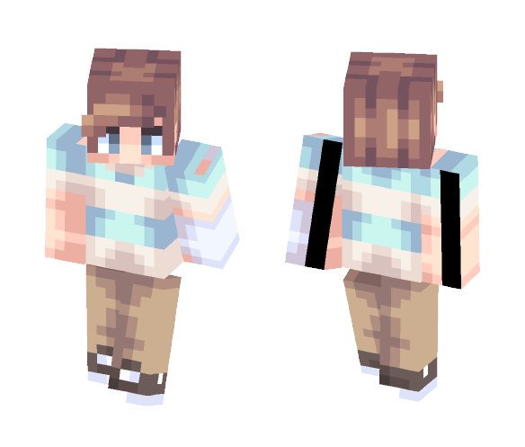 Waving Through A Window - Male Minecraft Skins - image 1