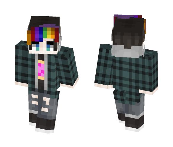 -=iiNyan Follower=- (Boy version) - Male Minecraft Skins - image 1
