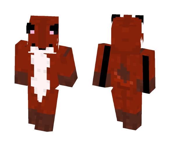 Sleepy Fox (Gift) - Male Minecraft Skins - image 1