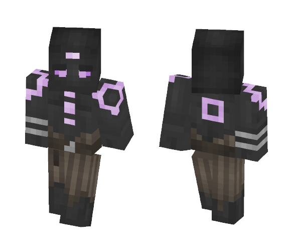 Lilac Golem - Interchangeable Minecraft Skins - image 1