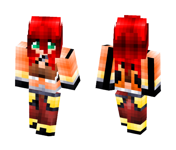 Gunslinger From Ragnarok - Female Minecraft Skins - image 1