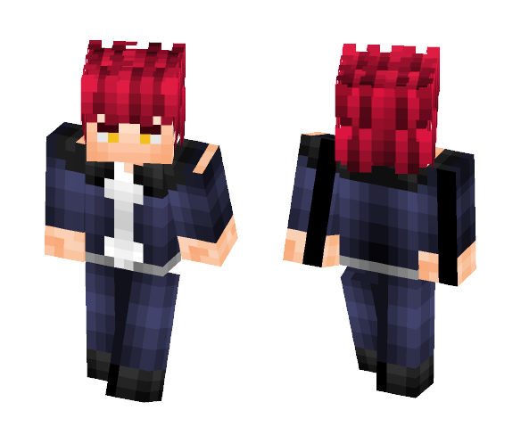 Mikoto (K Project) - Male Minecraft Skins - image 1