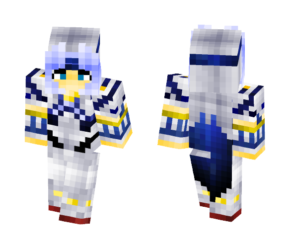 cecil from final fantasy - Male Minecraft Skins - image 1
