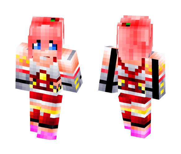 Serah From Final Fantasy - Female Minecraft Skins - image 1