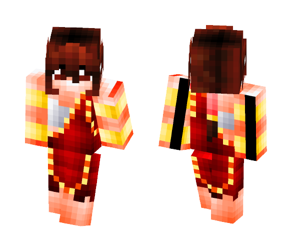 Fairy Tail: Phoenix Priestess - Female Minecraft Skins - image 1