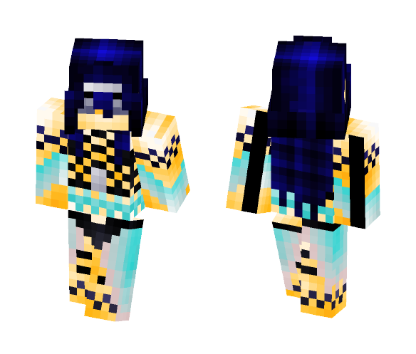 Darkness Goddess--Shaiya - Female Minecraft Skins - image 1
