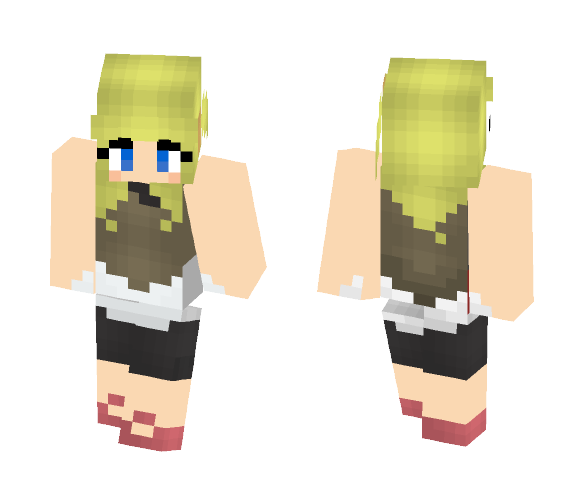 Bonnie from Pokemon - Female Minecraft Skins - image 1