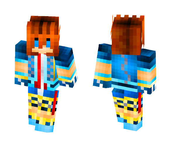 Sora-Kingdom Heart - Male Minecraft Skins - image 1