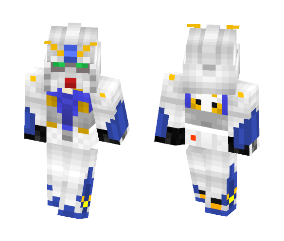 "RX-78NT-1 ""Gundam Alex"" - Male Minecraft Skins - image 1"