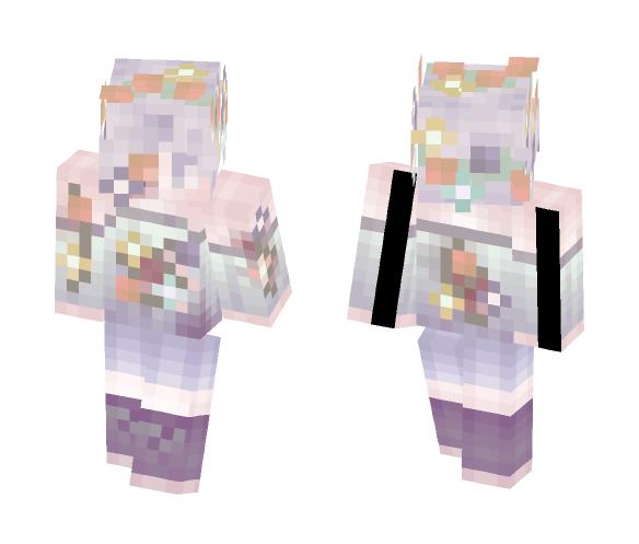 Pastel Hanahaki - Male Minecraft Skins - image 1