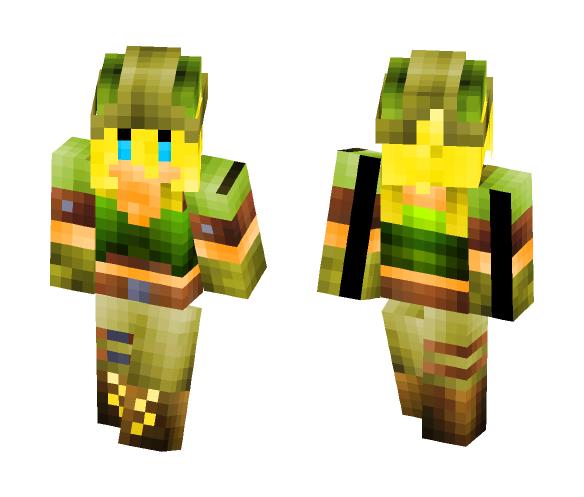 Pandora-Cross Fire - Female Minecraft Skins - image 1