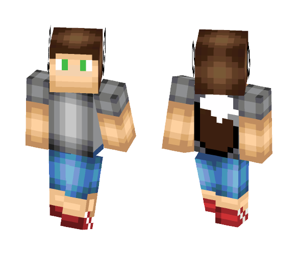 Me in real life ( with shading) - Male Minecraft Skins - image 1