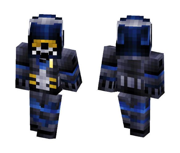 Ghost -Call of duty - Male Minecraft Skins - image 1
