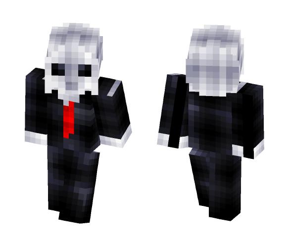 Slender man - Male Minecraft Skins - image 1