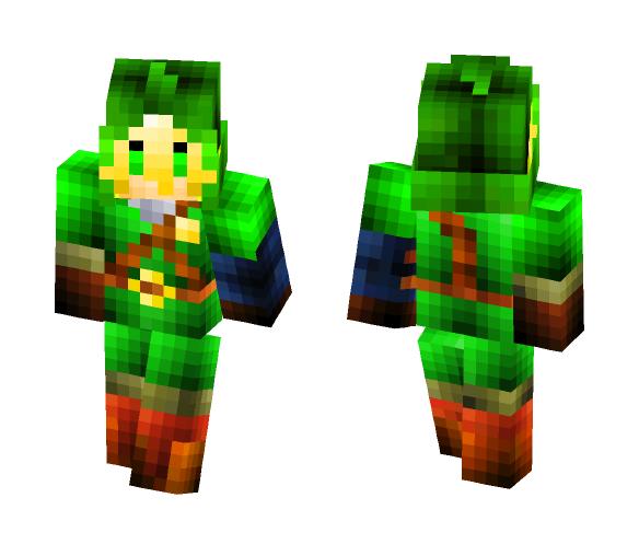 Link --Legend of zelda - Male Minecraft Skins - image 1