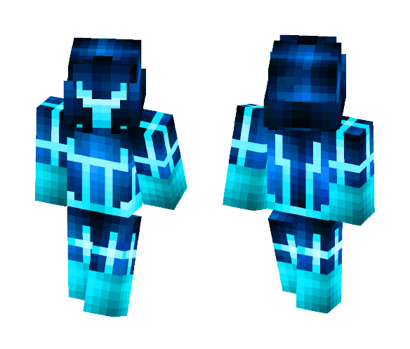 Tron---- Legacy - Male Minecraft Skins - image 1