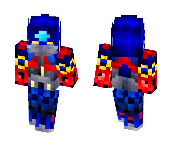 Optimus Prime from transformer - Male Minecraft Skins - image 1