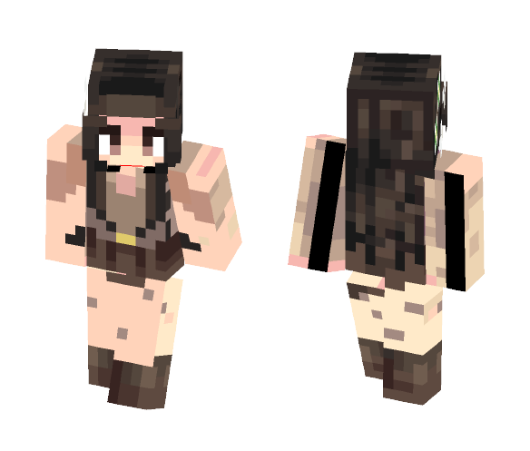 Rey from Star Wars - Female Minecraft Skins - image 1