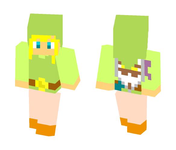 Toon Link - Male Minecraft Skins - image 1