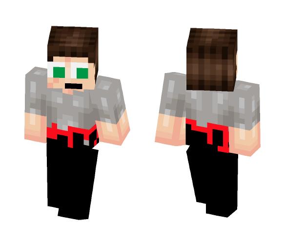 Half Ghost - Male Minecraft Skins - image 1