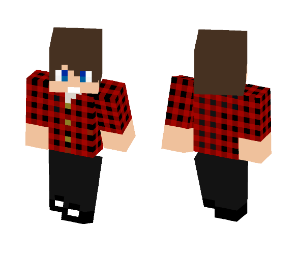 OFFICIAL MrSketchYT skin! - Male Minecraft Skins - image 1