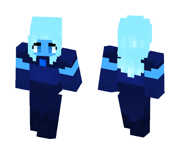 Blue Diamond (My AU) - Other Minecraft Skins - image 1