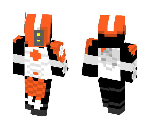 Tau fire warrior - Male Minecraft Skins - image 1