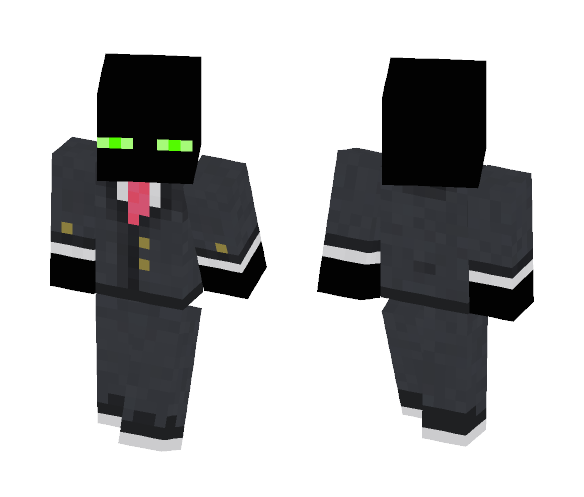 Agent Enderman - Other Minecraft Skins - image 1