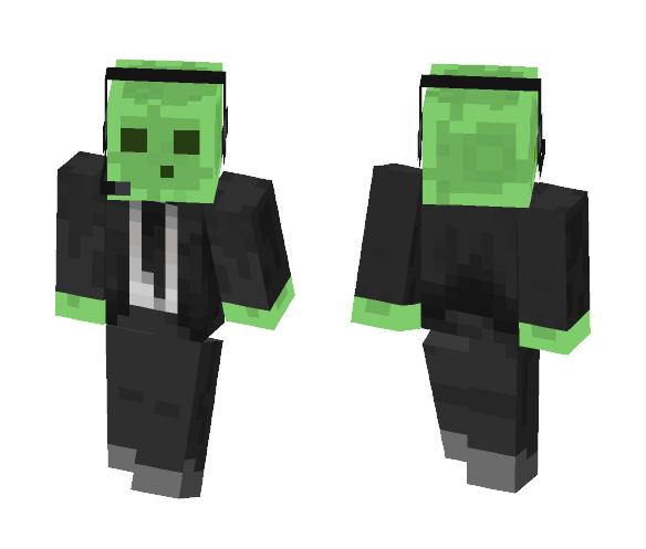 Slime announcer - Other Minecraft Skins - image 1