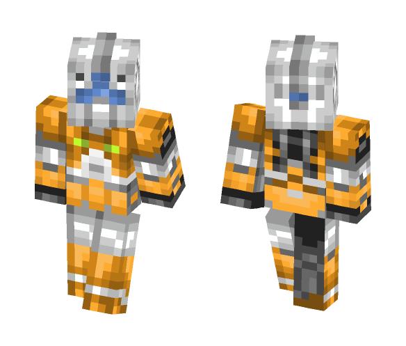 RGM-79L GM Light armor - Interchangeable Minecraft Skins - image 1