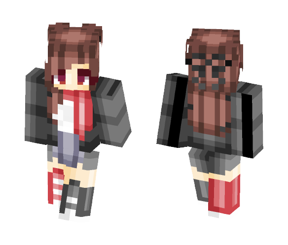 ♡ Winter Chills and Warmth ♡ - Female Minecraft Skins - image 1