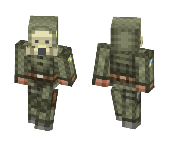 STALKER Loner Suit | 1.12+ Update - Male Minecraft Skins - image 1