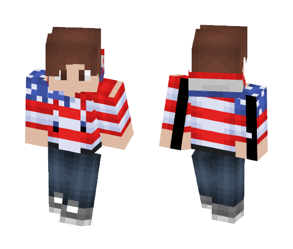 Late July 4th Special - Male Minecraft Skins - image 1