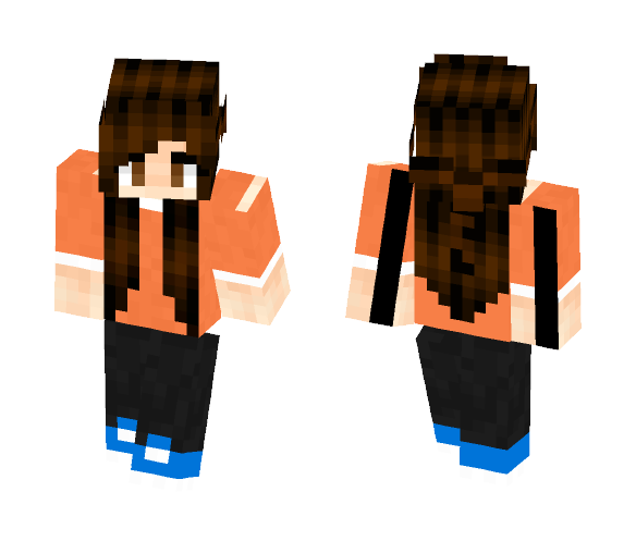 My mom (when she was younger) - Female Minecraft Skins - image 1