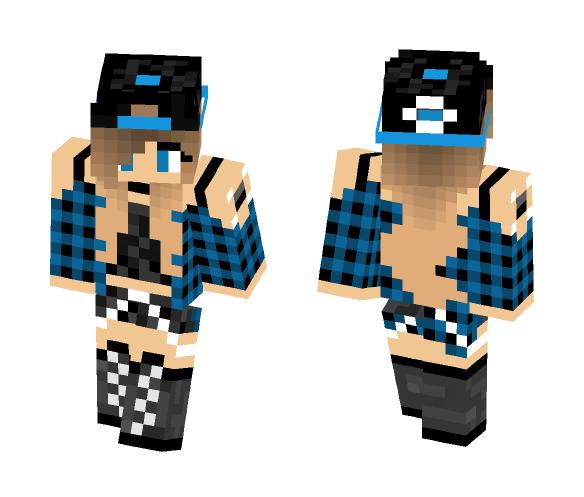 AyeItzFrozen - Female Minecraft Skins - image 1